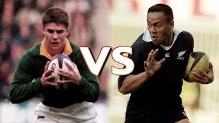 Mulder V Jonah Lomu In Rugby World Cup 1995 Final
