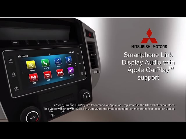 Smartphone Link Display Audio - Apple CarPlay hands on[MITSUBISHI MOTORS]