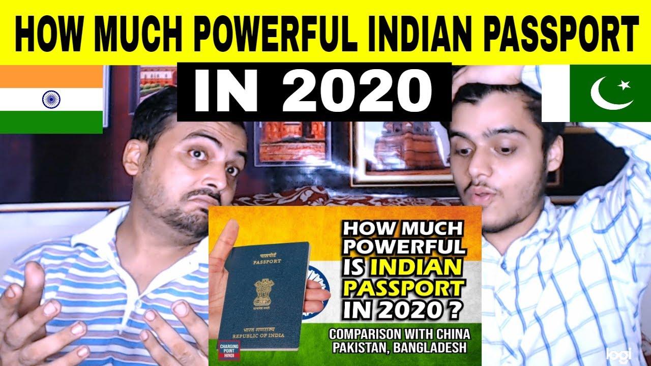 Pakistani Reaction to How Much Powerful Indian Passport in 2020? World Passport Ranking 2020