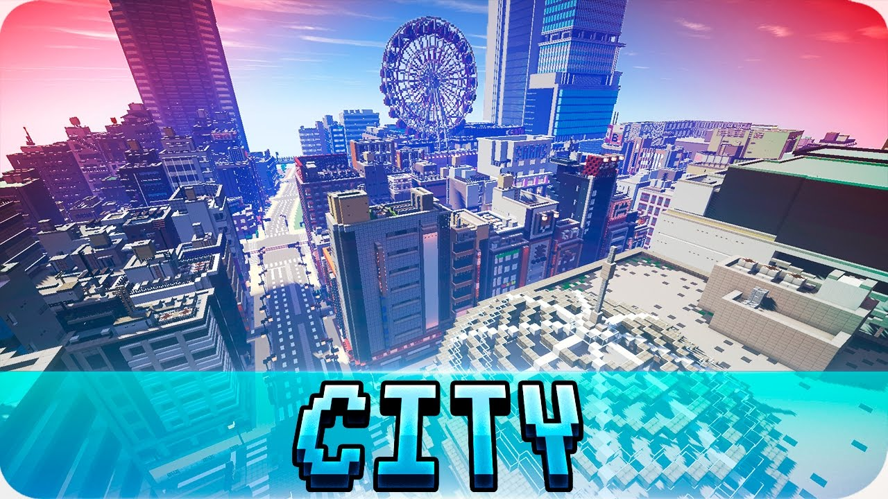 Minecraft Insane Japanese Modern City World Cinematic