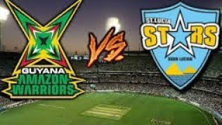 Who Will Win St Lucia Stars vs Guyana Amazon Warriors CPL 15th Match 25-08-2018