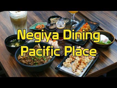 NEGIYA DINING PACIFIC PLACE SCBD JAKARTA