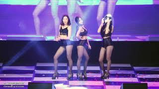 181004 포켓걸스(Pocket Girls) 짧은 치마(Miniskirt) (AOA/에이오에이) 직캠/fa…