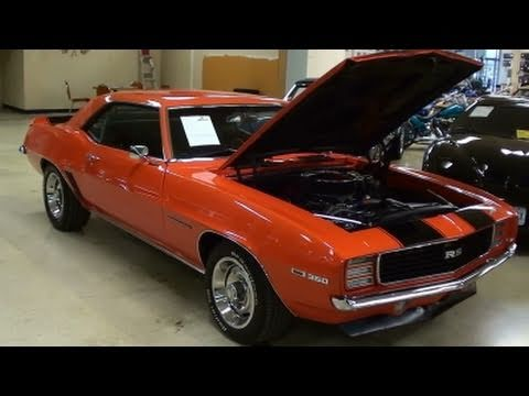 1969 Chevrolet Camaro Rs Hugger Orange Muscle Car Youtube