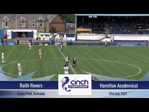 Raith Hamilton Goals And Highlights