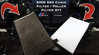 BMW E60 Cabin Filter / Pollen Filter Replacement DIY