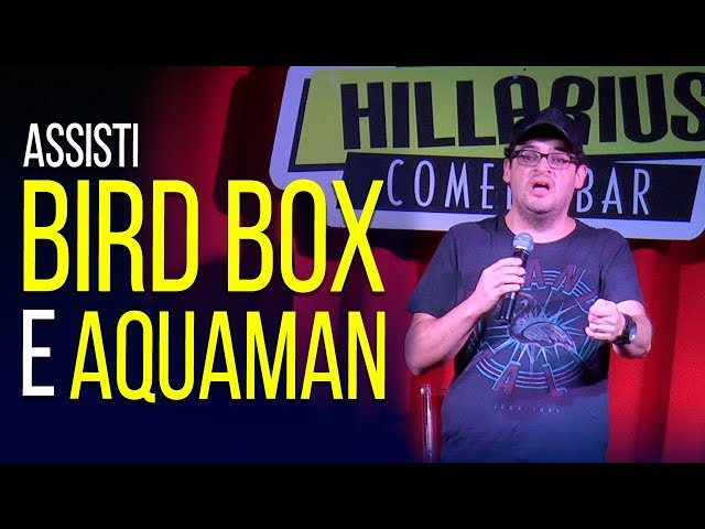 BIRD BOX E AQUAMAN | MATHEUS CEARÁ STAND UP
