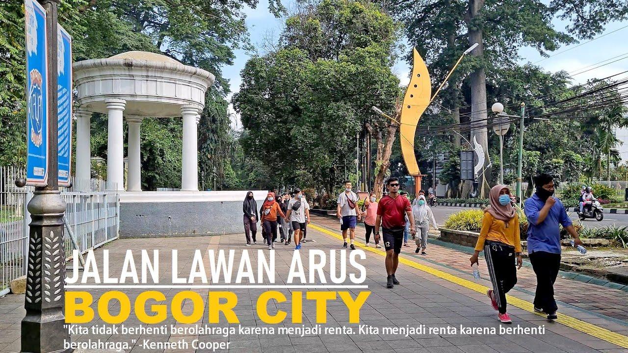 Walking Around Bogor ~ Morning Walk Tugu Kujang [Jl. Pajajaran] to Taman Sempur [Jl. Jalak Harupat]