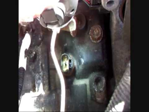 How To Remove Your Gearbox Reversing Switch Youtube