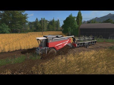 Farming simulator 17 Timelapse Churn farms with seasons episode #3