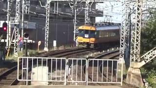 近鉄12200系+12200系8両特急名古屋行き発車と22000系+30000系新塗装特急賢島行き到着