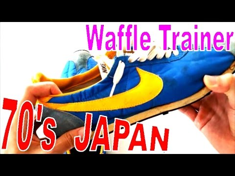 63f1dffb2c6 1970s🔴Vintage NIKE made in JAPAN  WAFFLE TRAINER  original sneaker  collection ワッフルトレーナー ナイキ