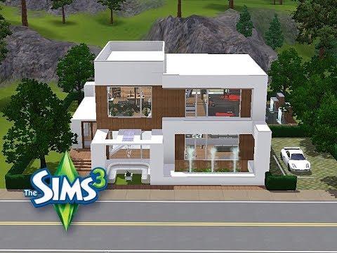 Sims 3 Haus Bauen Let S Build Schickes Haus Für Kleines