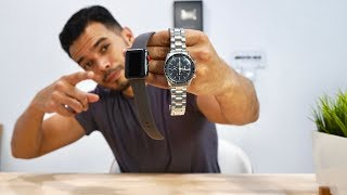 $400 Watch vs. $4,000 Watch | Is The Apple Watch Worth It?