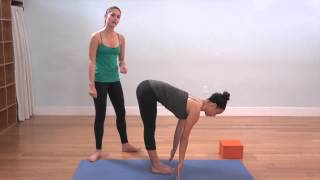The Yoga Collective - Lauren Eckstrom - Half Forward Fold