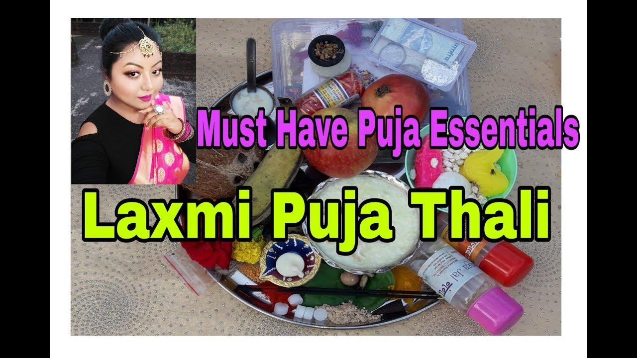 Diwali Puja Thali|Laxmi Puja Thal|Diwali Pujan Samagri|| Beauteous Reshmi