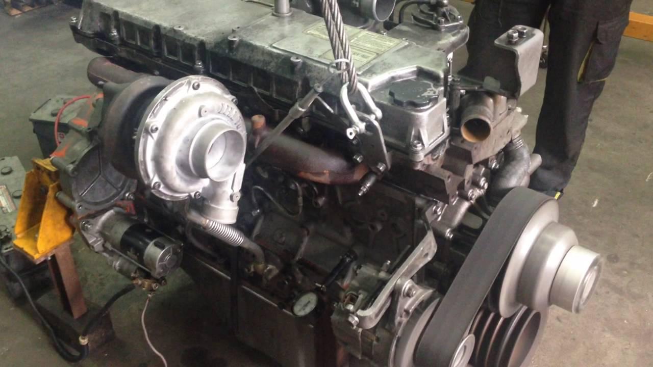 Ремонт двигателя Isuzu AA-6HK, запуск двигателя после ремонта
