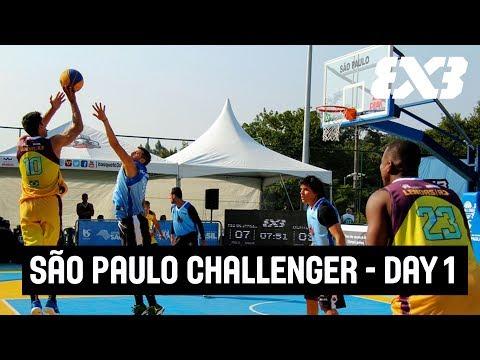 FIBA 3x3 São Paulo Challenger 2017 - LIVE - Day 1
