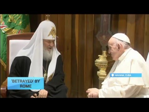 'Betrayed' by Rome: Pope says understands Greek Catholics in Ukraine might feel  'betrayed'
