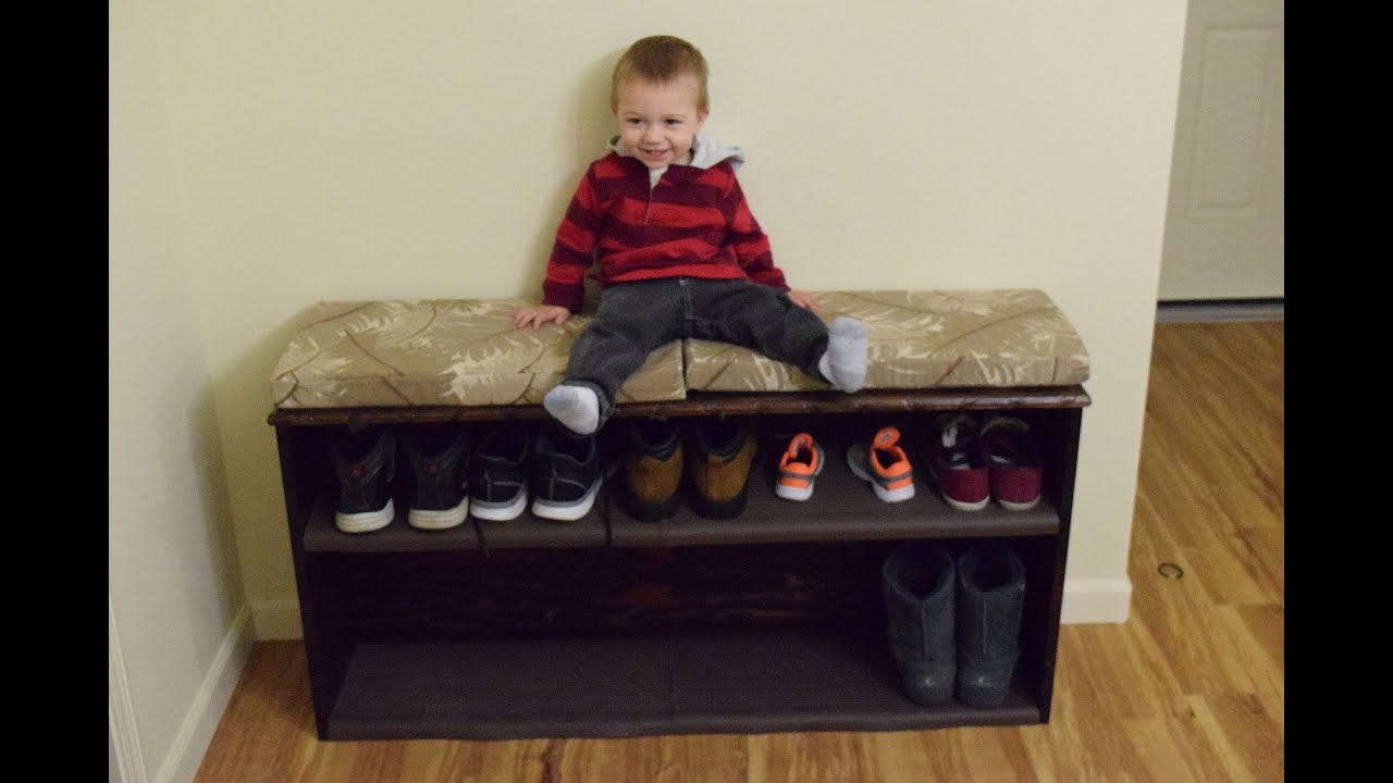 Entry Bench With Shoe Storage DIY With Chris Alaska Edition   YouTube