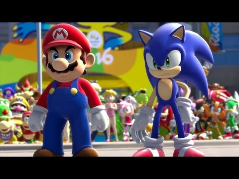Mario & Sonic at the Rio 2016 Olympic Games - Tournament Mode Part 1 (Vs. Rosalina)