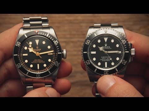 Rolex Submariner vs Tudor Black Bay  Watchfinder & Co