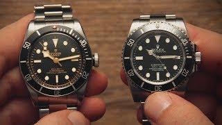 Rolex Submariner vs Tudor Black Bay | Watchfinder & Co.