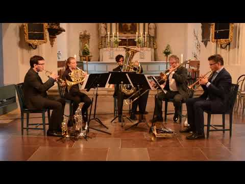 Svoboda: Dowland Suite performed by Stockholm Chamber Brass