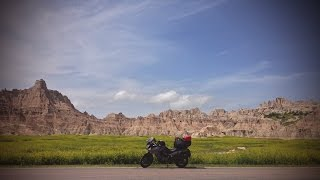 Around the US on a Motorcycle #32: Badlands National Park