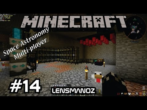 Minecraft - Space Astronomy MP - Ep 14 - Jamerella's Shop Start