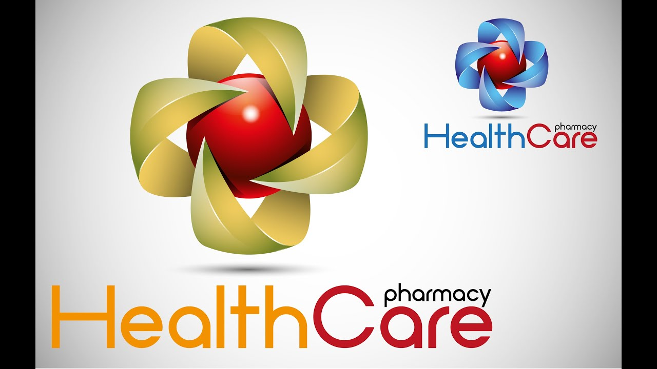 Adobe Illustrator tutorial (healthcare pharmacy logo