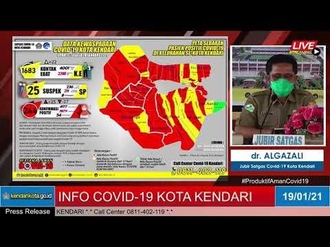 Release Data Medis Covid-19 Kota Kendari