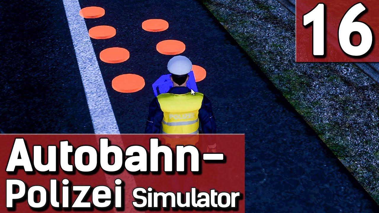 APS #16 Unfall beseitigen Autobahn Polizei Simulator deutsch HD ...