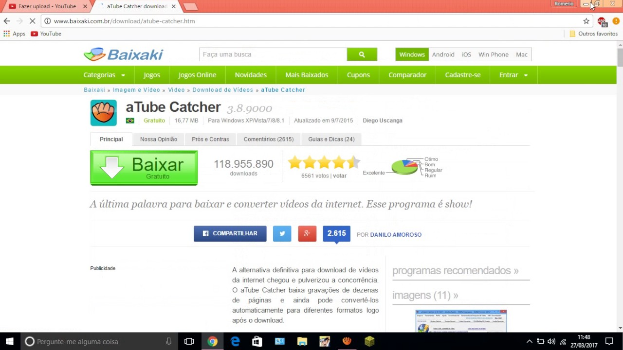 atube catcher baixaki