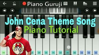 wwe-john-cena-theme-song-piano-slow-version---mobile-perfect-piano-notes