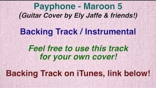 """Payphone"" - Maroon 5 - Backing Track / Instrumental (Cover by Ely Jaffe) on iTunes"