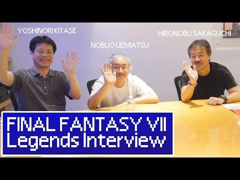 EXCLUSIVE! FINAL FANTASY VII Legends Reunion || Hironobu Sakaguchi, Nobuo Uematsu, Yoshinori Kitase