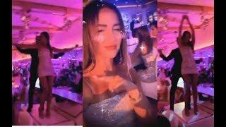 Бузова в клубе подшофе отожгла на барной стойке