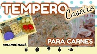 TEMPERO CASEIRO PARA CARNES/ SOLANGE MADÁ