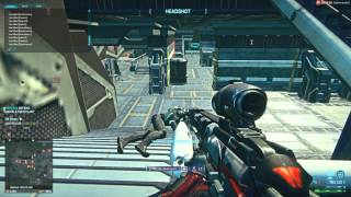 Planetside 2: Trying out the 4x scope on my Carv