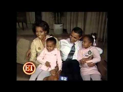 2004: The newly elected Senator Obama and family
