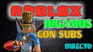 🔴ROBLOX LIVE * PLAY WITH SUBS *
