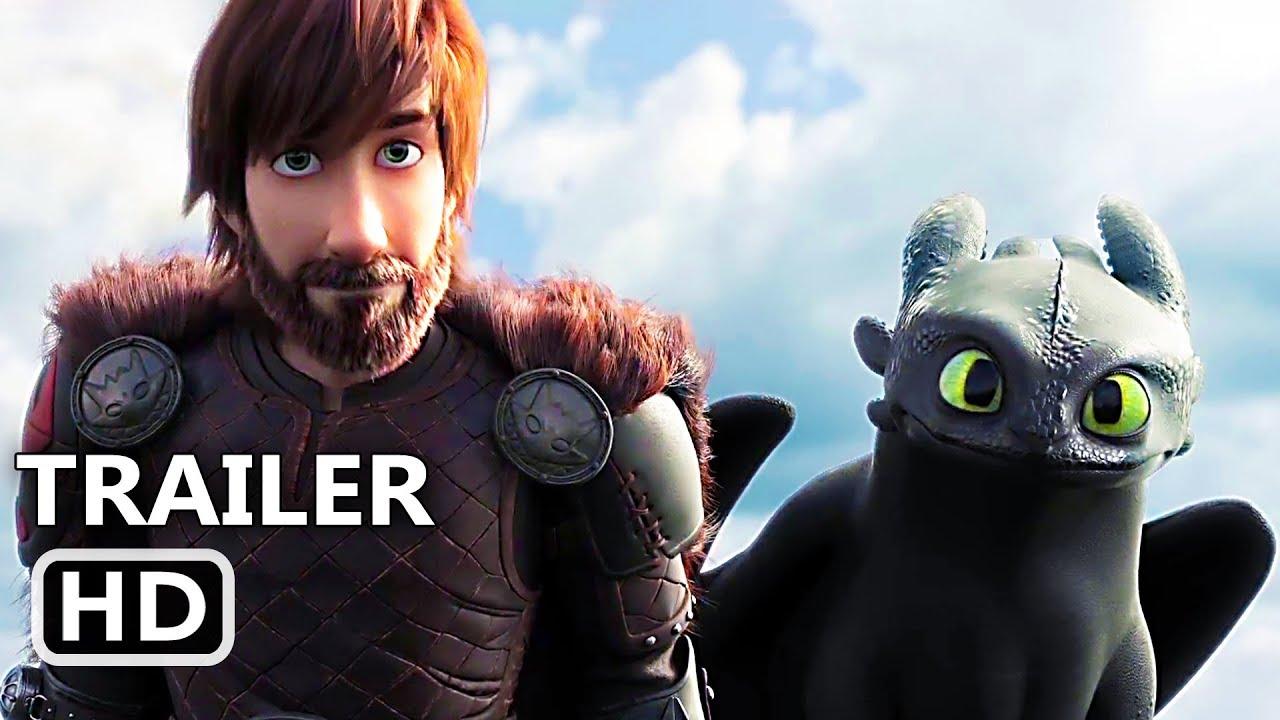 Cómo Entrenar A Tu Dragón 3 Tráiler Español 2019 Dreamworks Youtube