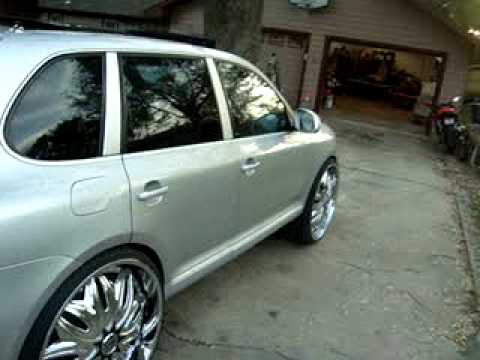 Conversion Van On 26s >> cadillac on 26s ,escalade on 30s , convertible charger ... | Doovi