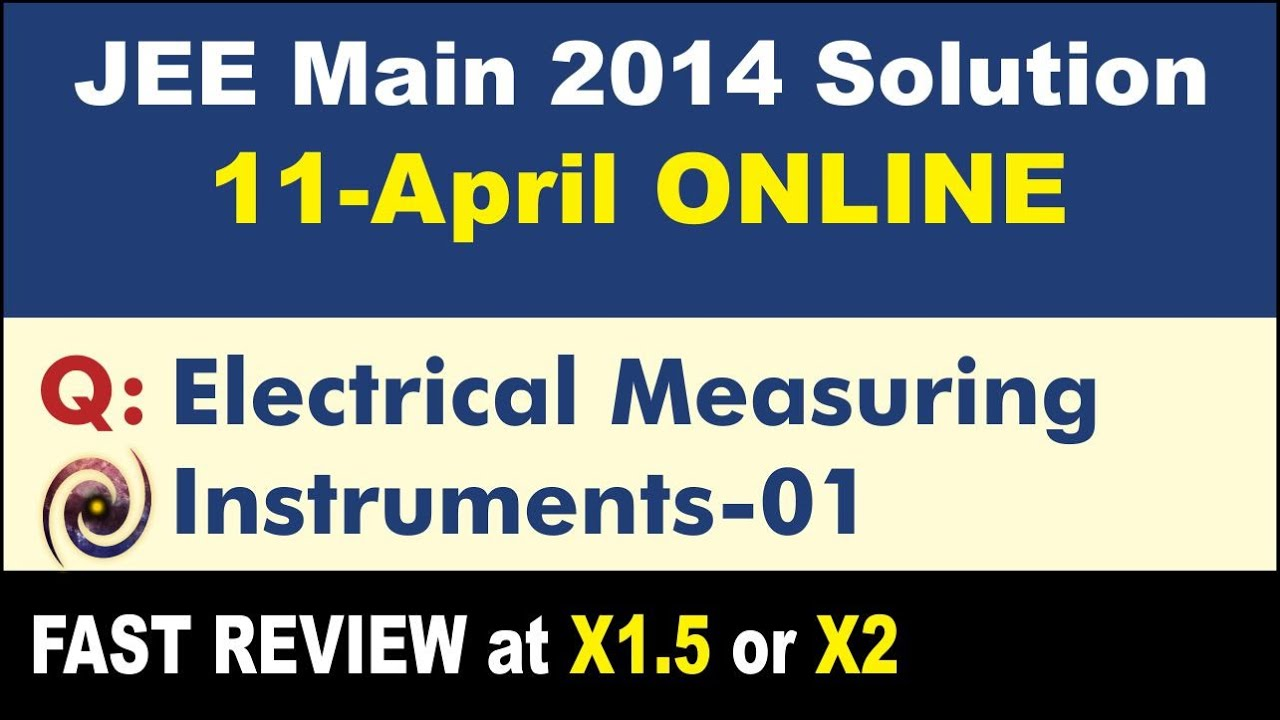 Jee Main Solution 2014 Online Electrical Measuring Instruments 01 Diagram The Complete Wiring Of Circuit Is Shown Below