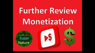 further review for Monetization additional review Azeem Qudrat