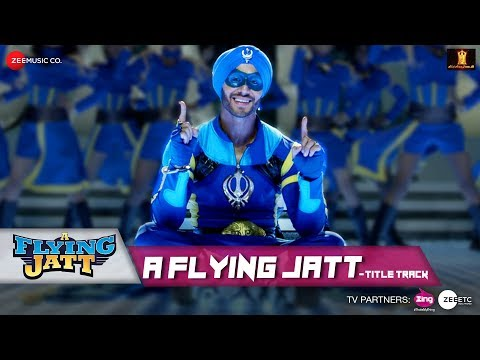 A Flying Jatt Title Song Lyrics From A Flying Jatt