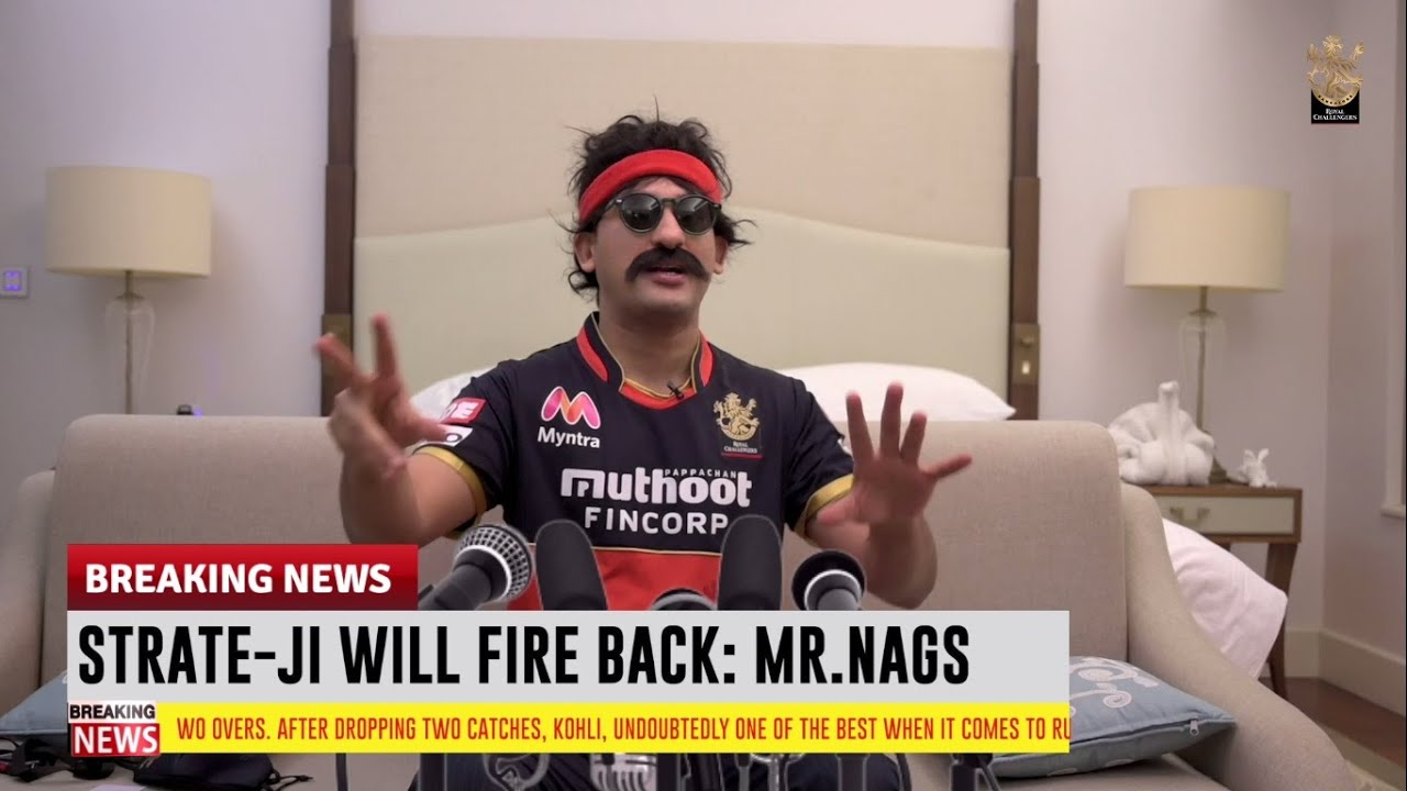 RCB Insider with Mr. Nags: Parody Press Conference KXIP v RCB