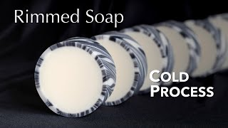 Rimmed Soap | Cold Process | Soap Challenge Club