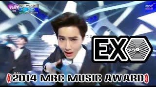 [2014 MBC Music Award] EXO - Thunder + overdose 20141231